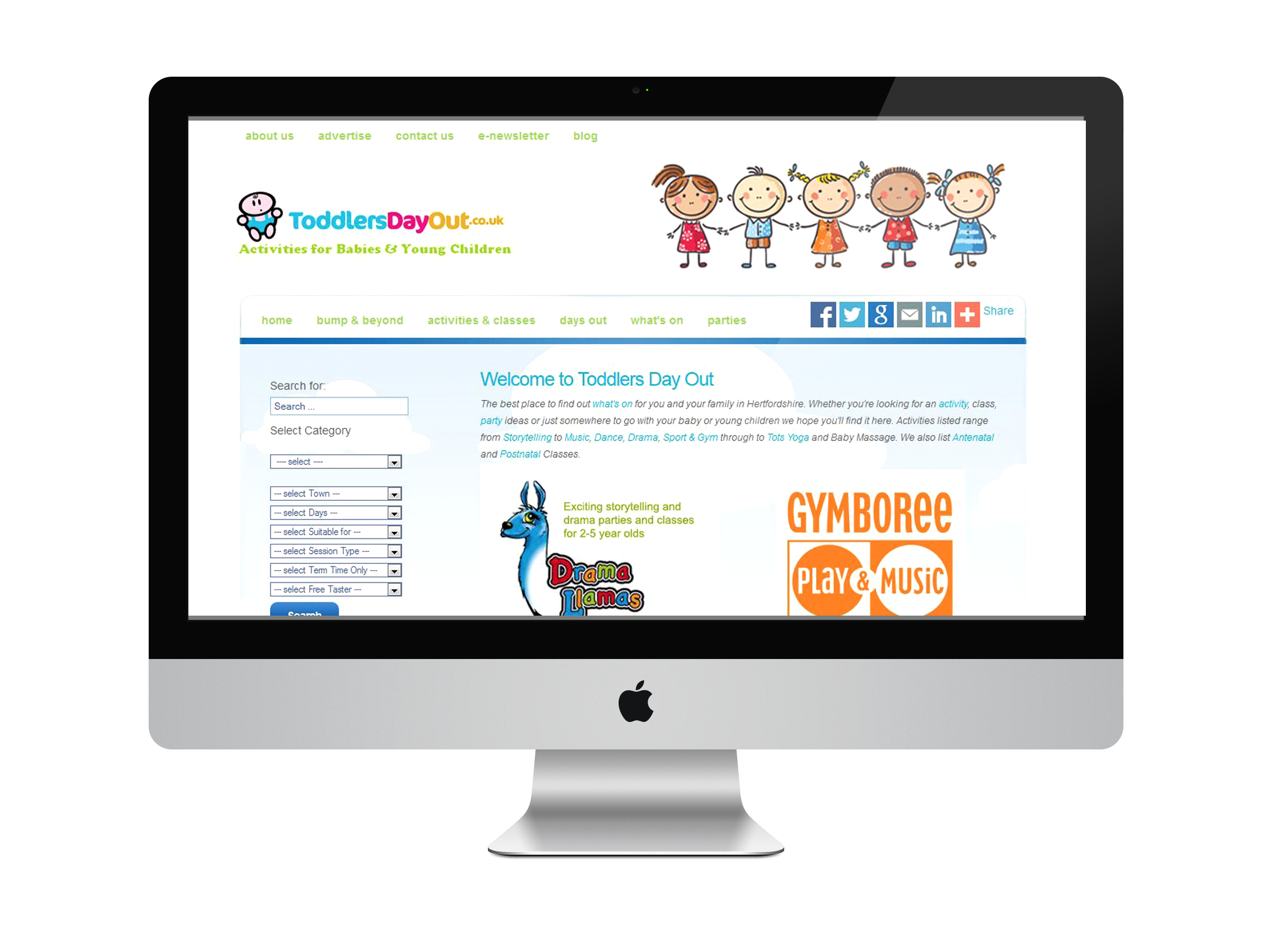 Toddlers Day Out Website