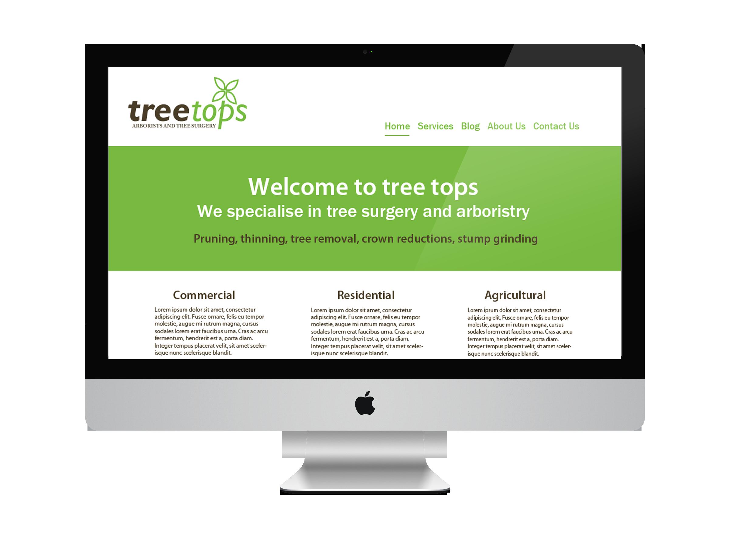 Tree Tops Website