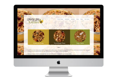 Website Design: Dizzy Bee Kitchen