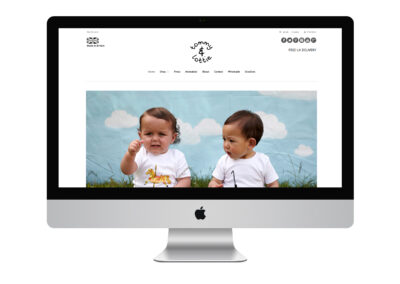 Website Design: Tommy & Lottie