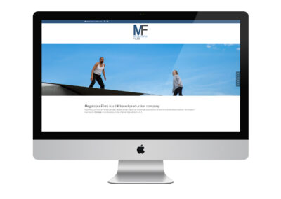Website Design: Megatopia Films Ltd