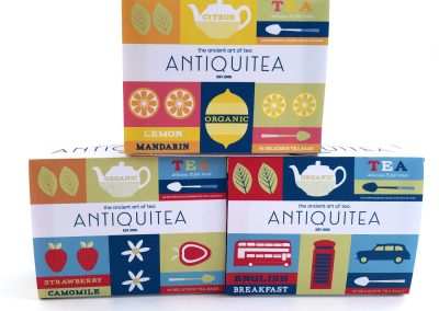 Packaging Design – Antiquitea