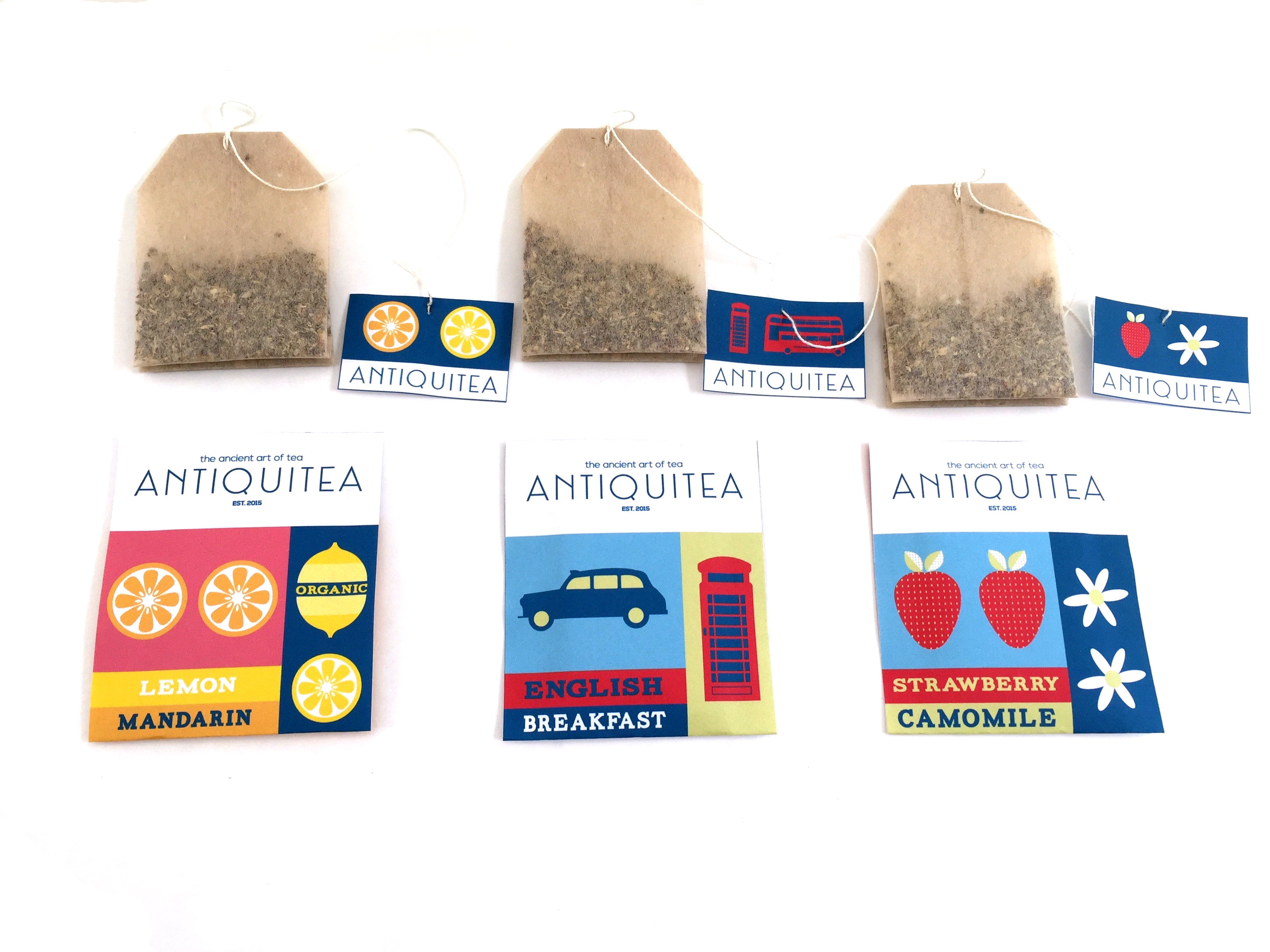 Antiquitea Tea bags front