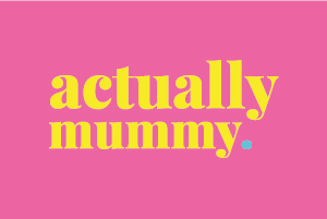 Branding and Website styling for Actually Mummy