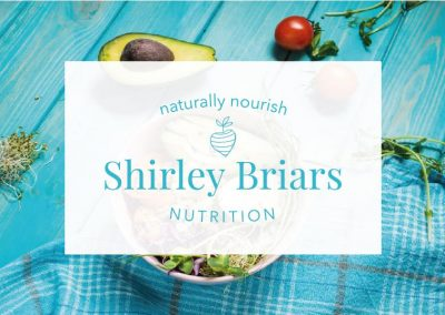 Branding + Website Design and Build for Shirley Briars Nutrition